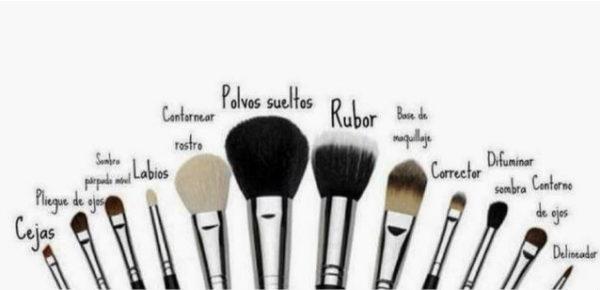Cómo limpiar tus brochas de maquillaje
